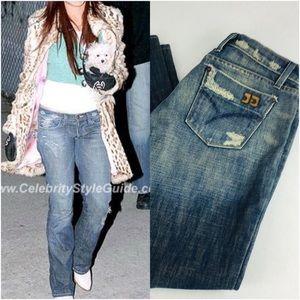 Joe's Eno Distressed Jeans Size28 EUC Short Inseam
